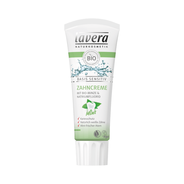LAVERA basis sensitiv Zahncreme mint dt